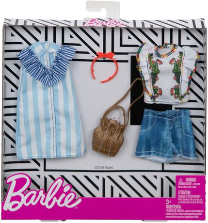 Barbie Fashions Floral Pinstripes 2-Pack - image 2 of 2