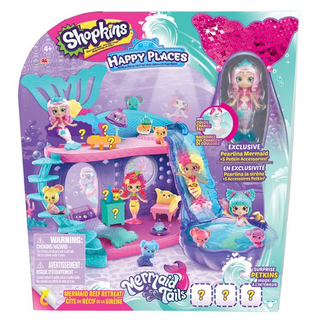 Happy Places Mermaid Playset - image 1 of 8