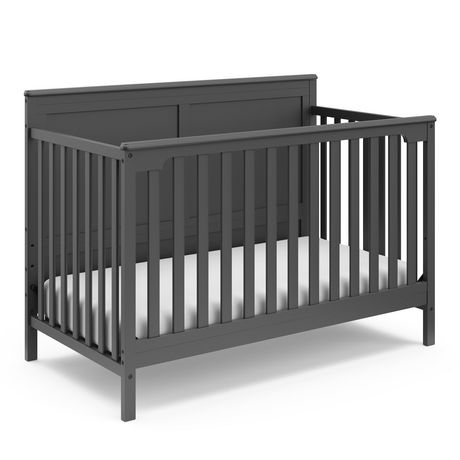 Alpine 4 In 1 Convertible Crib Easily Converts To Toddler Bed