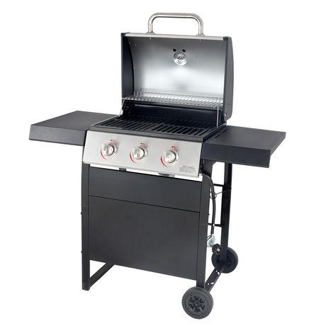Backyard Grill 3 Burner LP Propane Gas Grill BBQ - GBC1707WT-C - image 2 of 9
