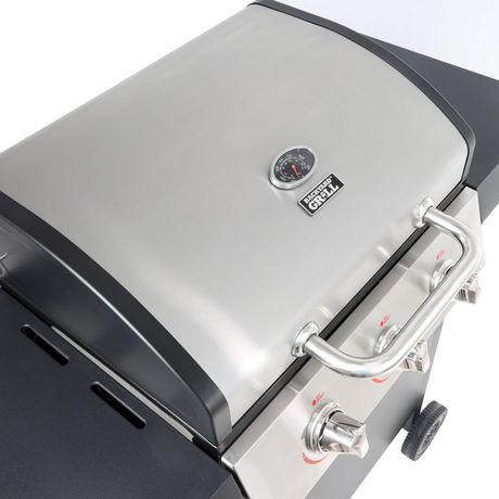Backyard Grill 3 Burner LP Propane Gas Grill BBQ - GBC1707WT-C - image 3 of 9