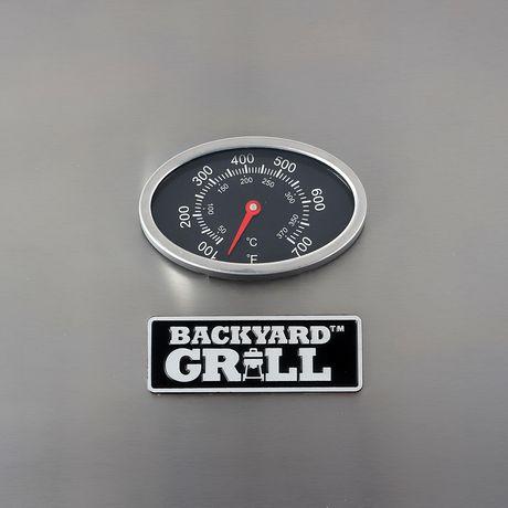 Backyard Grill 3 Burner LP Propane Gas Grill BBQ - GBC1707WT-C - image 4 of 9