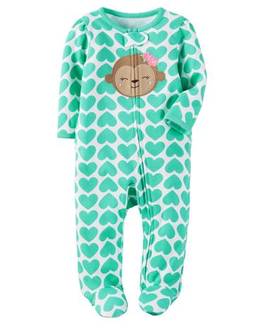 5cc4ac883f37c Tenue avec pyjama-grenouillère pour bébé fille Child of Mine made by  Carter s à motif ...
