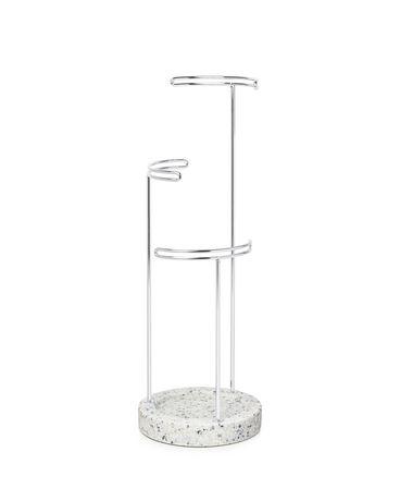 Umbra Tesora Terrazzo Jewelry Stand Gray/Multi Grey/Multicolour