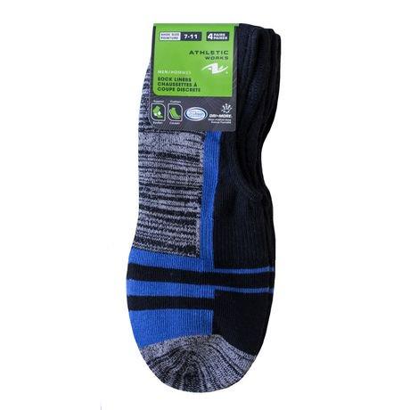 Athletic Works Menu0026#39;s 4 Pairs Liner Socks | Walmart Canada