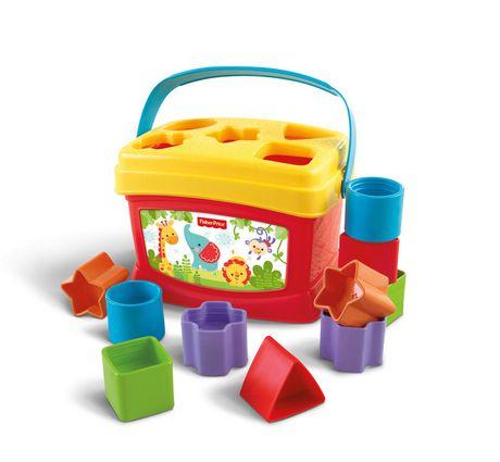 Fisher-Price Brilliant Basics Baby's First Blocks, 10 Blocks - image 1 of 9