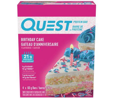 Quest Birthday Cake
