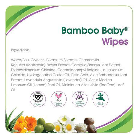 Serviettes Bamboo BabyMD de Aleva NaturalsMD - 480 paquet - image 4 de 6