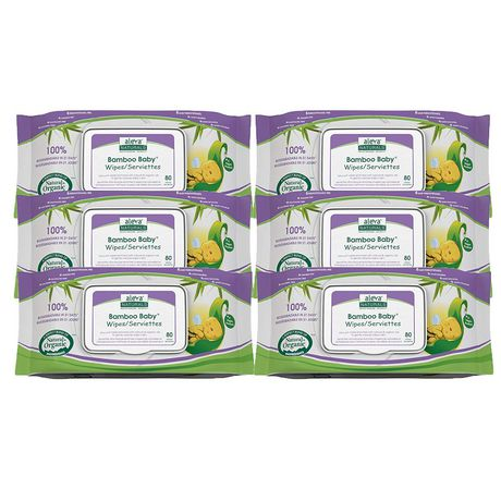Serviettes Bamboo BabyMD de Aleva NaturalsMD - 480 paquet - image 6 de 6