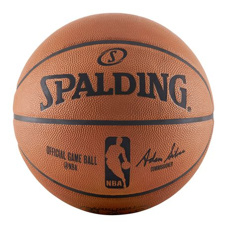 Balls Team Sports Size 7 Spalding Gold Nba Basketball Game Ball Indoor Outdoor Free Delivery