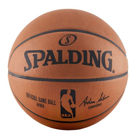 Spalding official nba game basketball walmart canada - Spalding basketball images ...