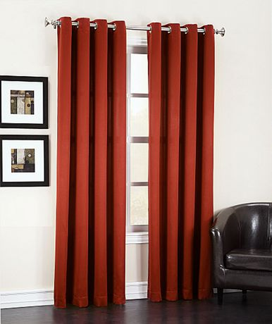 Sun Zero Madrid Grommet Curtains - image 1 of 1