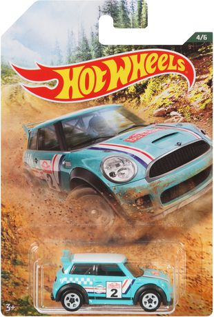 Walmart Exclusive 2019 Hot Wheels RALLY SPORT Mini Cooper S Challenge 4//6
