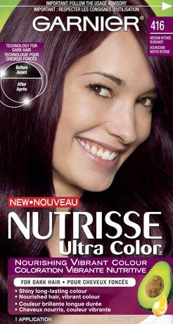 Coloration cheveux garnier color intense