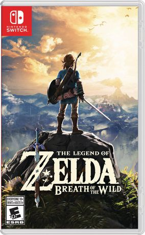 Nitendo The Legend of Zelda  Breath of the Wild (Nintendo Switch) - image 1 of 8