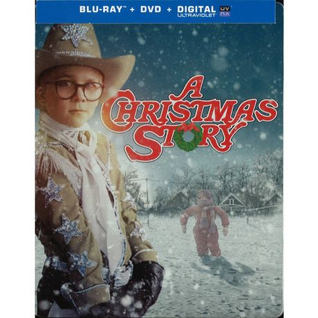A Christmas Story: 30th Anniversary Edition (Steelbook) (Blu-ray + ...