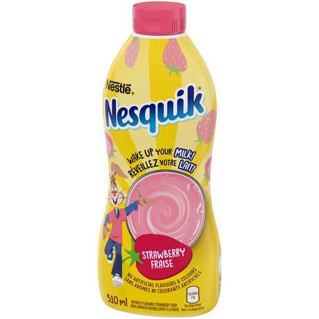 NESTLÉ® NESQUIK® Iron Enriched Strawberry Flavoured Syrup - image 5 of 6