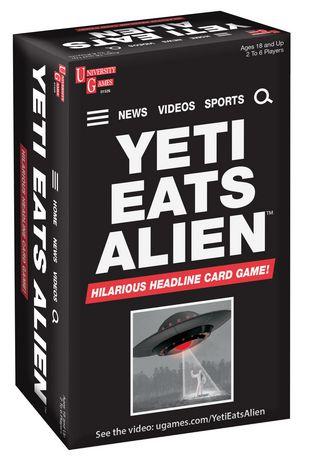 University Games - Yeti Eats Alien - image 1 of 1