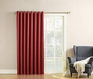 rideaux illet madrid de sun zero pour porte patio walmart canada. Black Bedroom Furniture Sets. Home Design Ideas