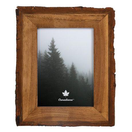 Cadre photo en bois - image 1 de 4