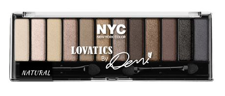 Nyc New York Color Lovatics by Demi Eyeshadow Palette - image 1 of 1