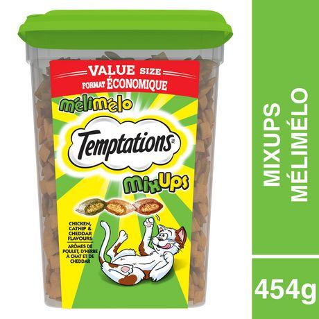 TEMPTATIONS Mix-Ups Catnip 454g Tub (Chicken, Cheddar, Catnip) - image 1 of 6