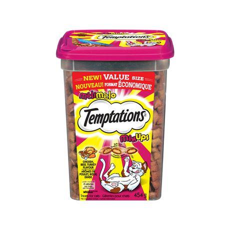 Temptations Mixups CAT Treats Tub - image 1 of 6