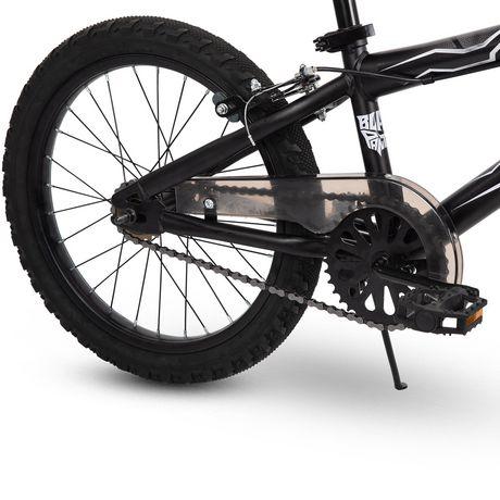 Vélo BMX Panthère Noire de Marvel de 18 po en acier pour garçons par Huffy - image 4 de 7