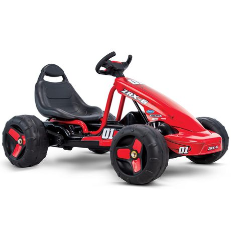 Huffy ZRX-6 6V Battery-Powered and Pedal Go-Kart - image 2 of 6
