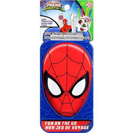 Boîtier de personnage Spider Man pour amusement sur le pouce en plastique - image 1 de 1