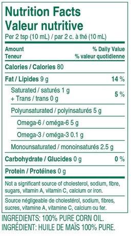 Walmart Oil Change Price >> Mazola Corn Oil | Walmart Canada