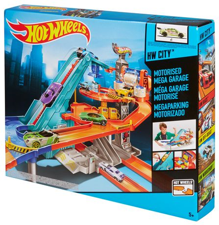 Hot Wheels Motorized Mega Garage Playset - image 2 of 2