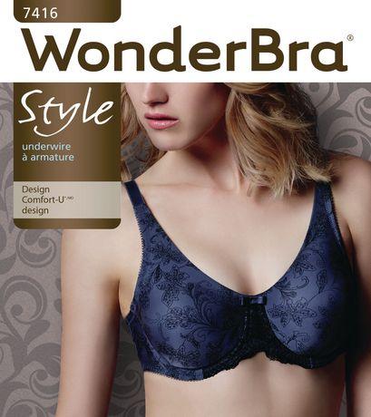 95c86a1f773 WonderBra Women s Molded Print Comfort-U Underwire Bra - image 2 ...