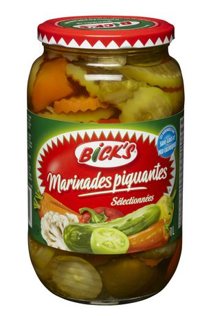 Bick's Hot Mixed Pickles - image 2 of 2