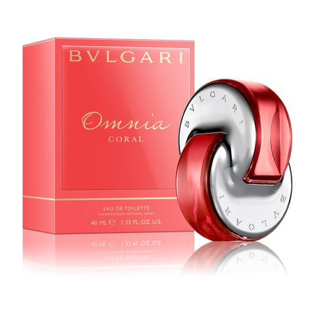 Bvlgari Omnia Coral Eau De Toilette Spray For Women 40 Ml Walmart