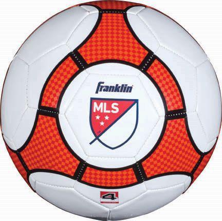Ballon de soccer OPP de MLS - blanc/rouge - image 1 de 1