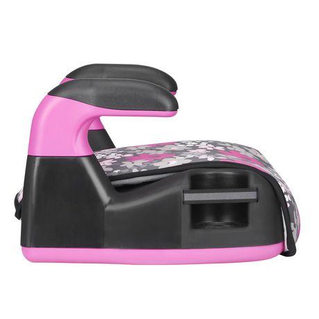 Evenflo Big Kid Amp No Back Booster (Pink Flowers) - image 5 of 6