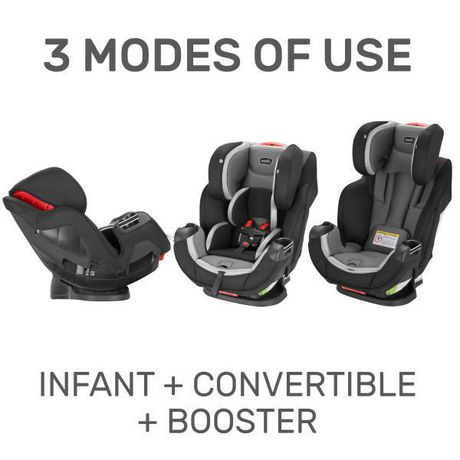 Evenflo Symphony DLX All-in-One Car Seat (Apex) - image 4 of 8