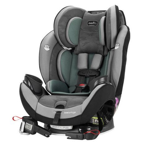 Evenflo EveryStage DLX All-in-One Car Seat (Highlands) - image 2 of 8