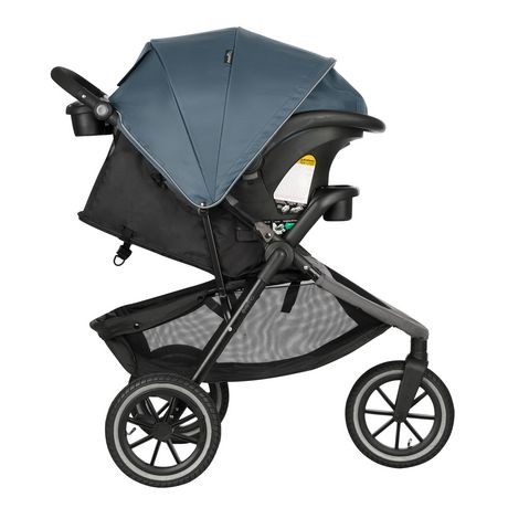 Evenflo Folio3 Stroll & Jog Travel System with LiteMax 35 Infant Car Seat (Skyline) - image 2 of 8