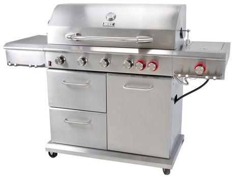 Shoptagr | Backyard Grill 6 Burner Propane Gas Grill With Side Burner by Backyard  Grill - Shoptagr Backyard Grill 6 Burner Propane Gas Grill With Side