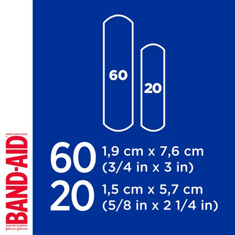 Band-Aid Fabric Bandages, Assorted - image 6 of 8