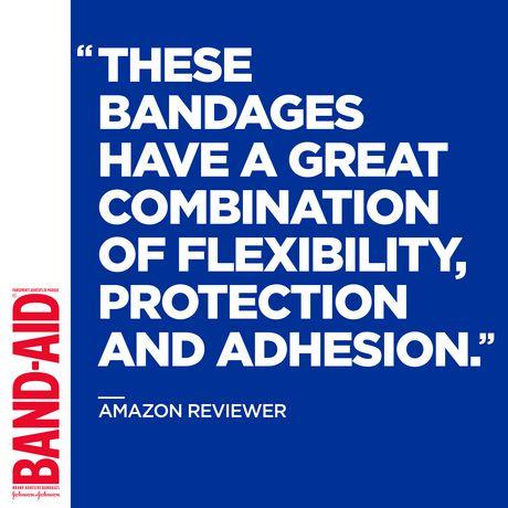 Band-Aid Fabric Bandages, Assorted - image 5 of 8