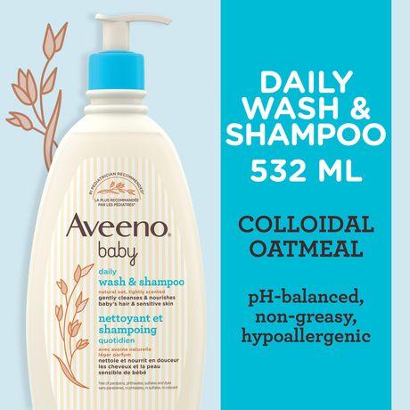 Aveeno Baby Wash & Shampoo - image 3 of 5