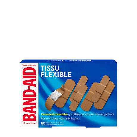 Band-Aid Fabric Bandages, Assorted - image 2 of 8