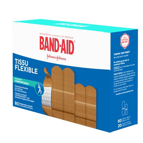 Band-Aid Fabric Bandages, Assorted - image 8 of 8