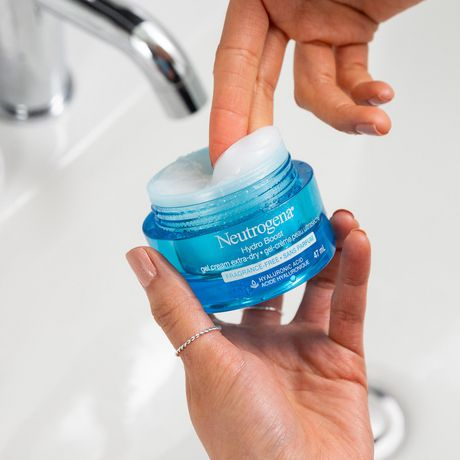 Neutrogena Hydro Boost Facial Gel Cream, Hyaluronic Acid for Extra Dry Skin - image 4 of 8