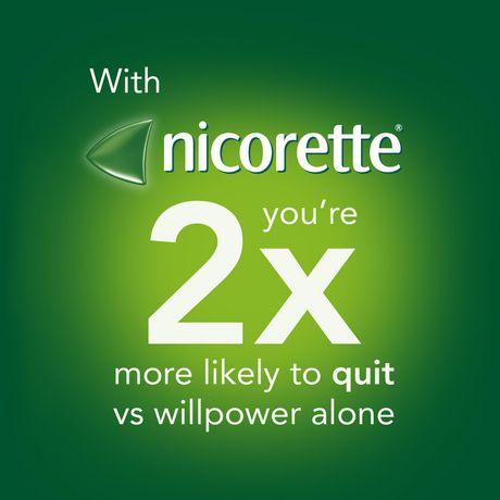 Vaporisateur Nicorette  VapoÉclair, Menthe fraîche, 1 mg,  Aide pour cesser de fumer et Aide de renoncement au tabac, 150 vaporisations - image 6 de 8