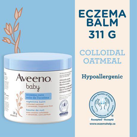 Aveeno Baby Eczema Care Night Cream, 311g