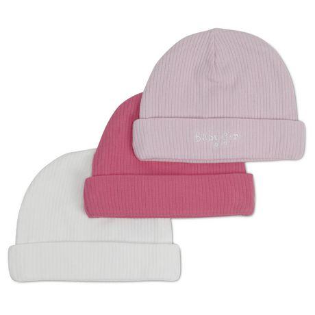 Gerber Newborn Textured Cap, Pack of 3 - image 1 of 1
